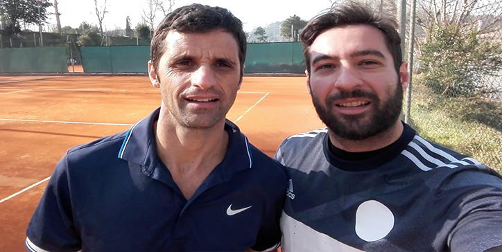 GiroTennis - Foto Torneo di 1a Cat. Singolare Maschile Roma Nord-Est